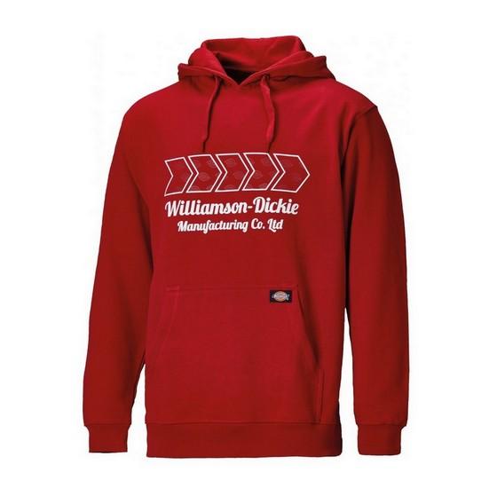 DICKIES SH11600 ARKLEY HOODIE RED MEDIUM lowest price