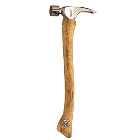 VAUGHAN DDH20C DECKING HAMMER CURVED HANDLE 20OZ