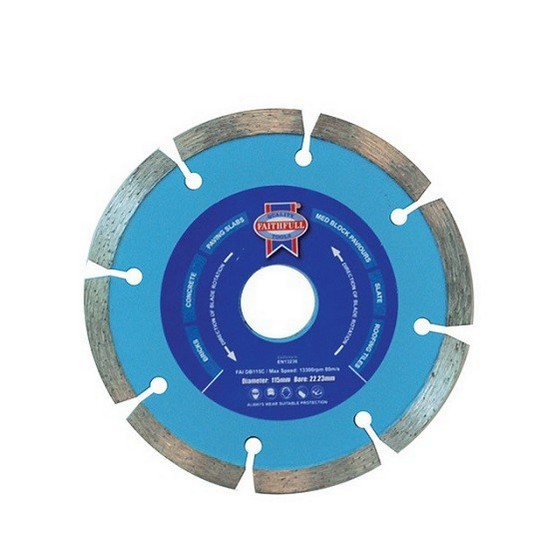 Image of Faithfull Faidb115c Contract Diamond Blade 2223x115mm