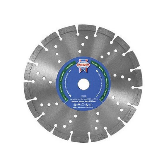 Image of Faithfull Faidb125pro Pro Series Diamond Blade 2223x125mm