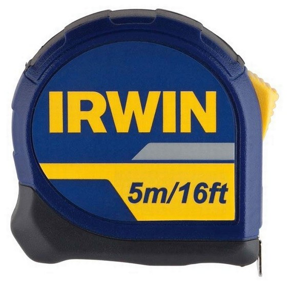 IRWIN 10507788 STANDARD TAPE MEASURE 5M
