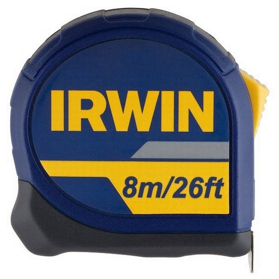 IRWIN 10507789 STANDARD TAPE MEASURE 8M