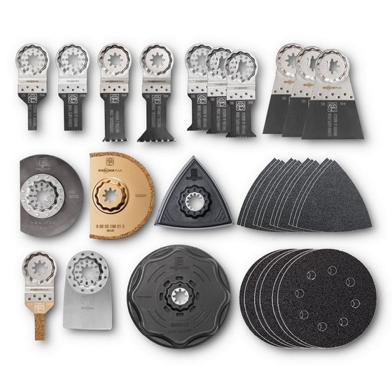FEIN 35222942060 STARLOCK BEST OF RENOVATION 34 PIECE SET