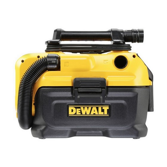 DEWALT DCV584L 18V XR FLEXVOLT WET AND DRY DUST EXTRACTOR (BODY ONLY)