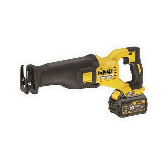Image of DEWALT DCS388T2 54V FLEXVOLT RECIPROCATING SAW WITH 2X 60AH LIION BATTERIES