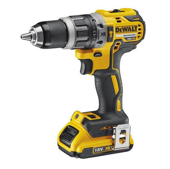 DEWALT DCD796D2 18V COMPACT DRILL DRIVER WITH 2X 2.0AH LI-ION BATTERIES
