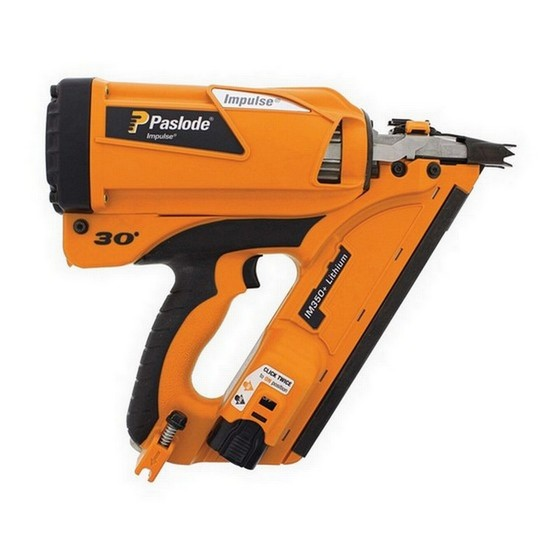 Image of PASLODE 905900 IM350 LIION 1ST FIX NAILER 1 X LIION BATTERY