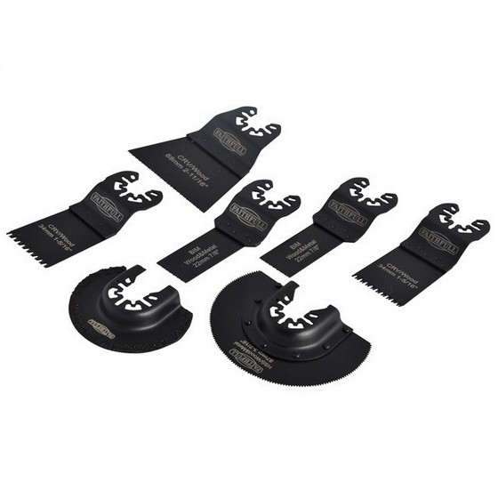 Image of Faithfull 7 Piece Multi Tool Blade Accessory Set
