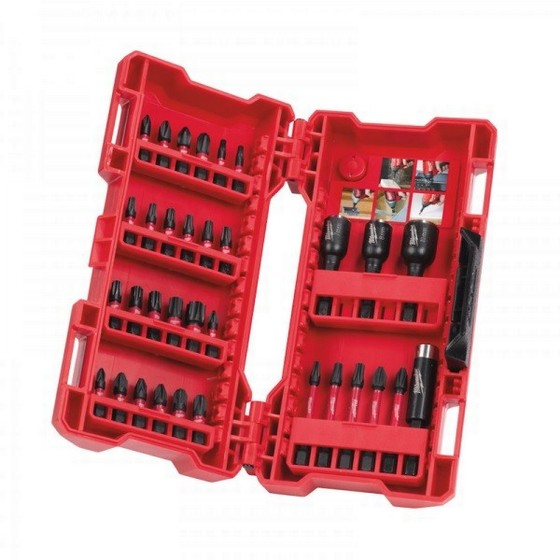 Image of Milwaukee 4932430905 33 Piece Shockwave Set