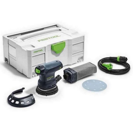 Image of Festool 201233 Ets125 Reqplusgb Eccentric Sander 240v Supplied In Tloc Case