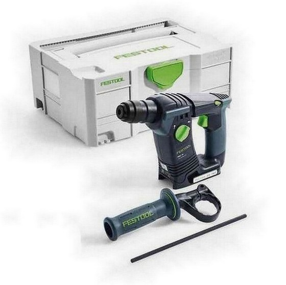 FESTOOL 574723 BHC18 LI BASIC 18V SDS HAMMER DRILL BODY ONLY SUPPLIED IN TLOC CASE
