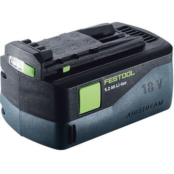 Image of FESTOOL 200181 BP18LI 52 AS 18V 52AH AIRSTREAM LIION BATTERY