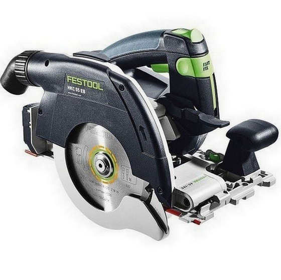 Image of FESTOOL 201358 HKC 55 LI EBBASIC 18V CIRCULAR SAW BODY ONLY SUPPLIED IN TLOC CASE