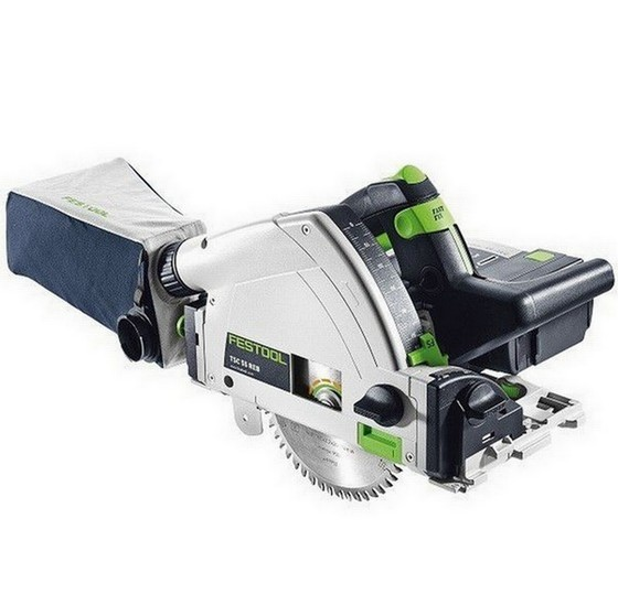 FESTOOL 201390 TSC55 LI 5,2 REB-PLUS GB 18V PLUNGE SAW 2 X 5.2AH AIRSTREAM LI-ION BATTERIES SUPPLIED IN T-LOC CASE