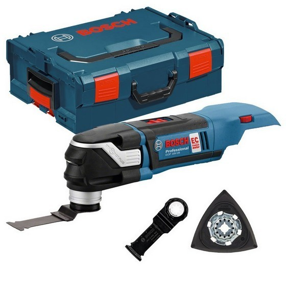 Image of BOSCH GOP18V28N STARLOCK PLUS MULTI TOOL BODY ONLY SUPPLIED IN LBOXX WITH ACCESSORIES