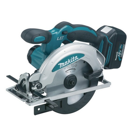 Image of MAKITA DSS610RFJ 18V CIRCULAR SAW WITH 2X 30AH LIION BATTERIES SUPPLIED IN MAKPAC CASE