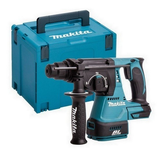 Image of MAKITA DHR242ZJ 18V BRUSHLESS 3 MODE SDS HAMMER DRILL BODY ONLY SUPPLIED IN MAKPAC CASE