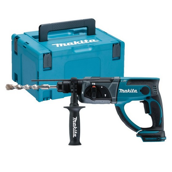 Image of MAKITA DHR202ZJ 18V SDS HAMMER DRILL BODY ONLY SUPPLIED IN MAKPAC CASE