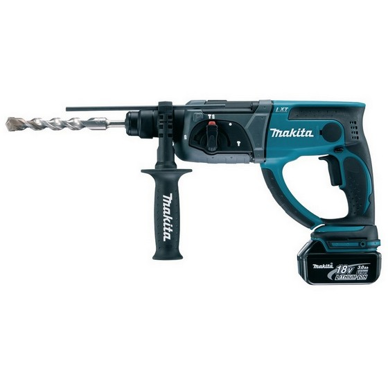 Image of MAKITA DHR202RMJ 18V SDS HAMMER DRILL WITH 2X 40AH LIION BATTERIES SUPPLIED IN MAKPAC CASE
