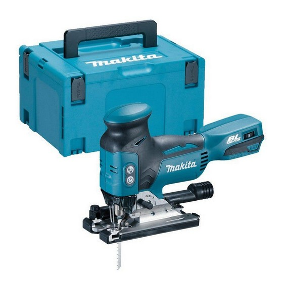 Image of MAKITA DJV181ZJ 18V BRUSHLESS BODY GRIP JIGSAW BODY ONLY SUPPLIED IN A MAKPAC CASE