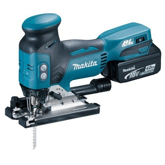 Image of MAKITA DJV181RTJ 18V BRUSHLESS BODY GRIP JIGSAW 2X 50AH LIION BATTERIES SUPPLIED IN MAKPAC CASE