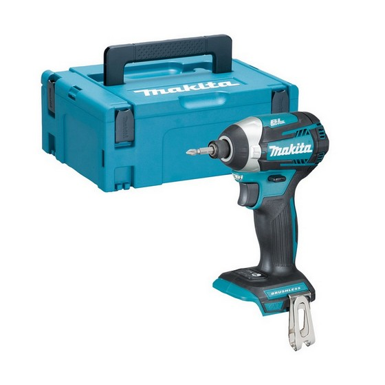 Image of MAKITA DTD154ZJ 18V BRUSHLESS IMPACT DRIVER BODY ONLY SUPPLIED IN MAKPAC CASE