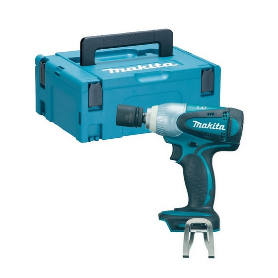 Image of Makita Dtw251zj 18v Impact Wrench Body Only Supplied In A Makpac Case