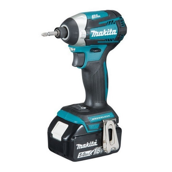 Image of MAKITA DTD154RTJ 18V BRUSHLESS IMPACT DRIVER WITH 2X 50AH LIION BATTERIES SUPPLIED IN A MAKPAC CASE