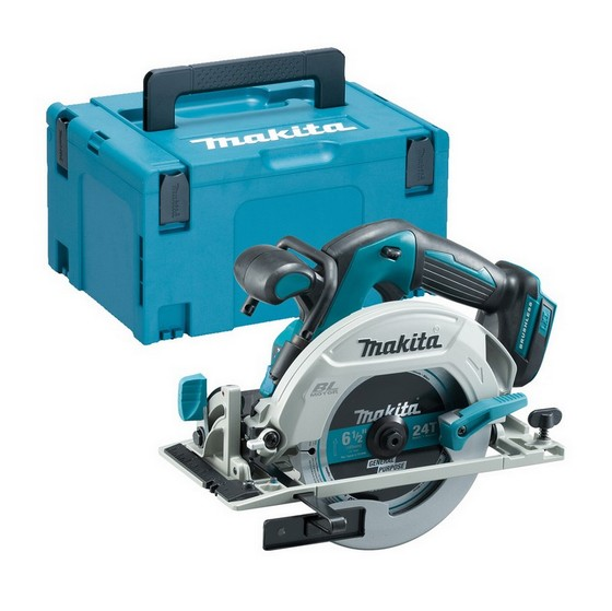 Image of MAKITA DHS680ZJ 18V BRUSHLESS CIRCULAR SAW BODY ONLY SUPPLIED IN MAKPAC CASE