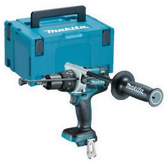 MAKITA DHP481ZJ 18V HEAVY DUTY BRUSHLESS COMBI HAMMER DRILL BODY ONLY SUPPLIED IN MAKPAC CASE