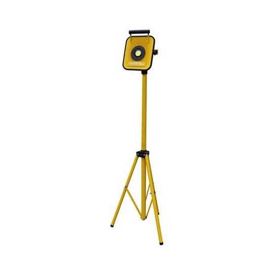 Image of FAITHFULL CORDLESS TRIPOD SITE LIGHT WITH BLUETOOTH SPEAKER