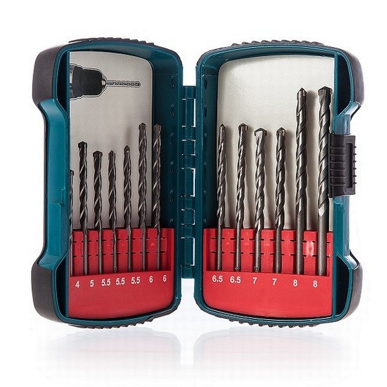 Image of MAKITA P51889 13 PIECE MASONRY DRILL BIT SET