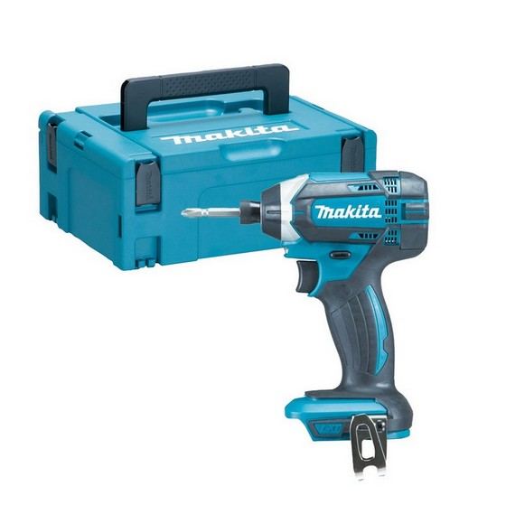 Image of MAKITA DTD152ZJ 18V IMPACT DRIVER BODY ONLY SUPPLIED IN MAKPAC CASE