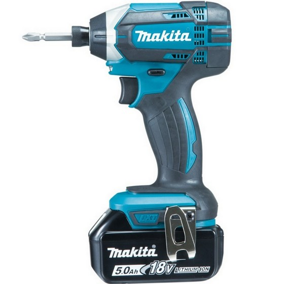 MAKITA DTD152RTJ 18V IMPACT DRIVER WITH 2X 5.0AH LI-ION BATTERIES SUPPLIED IN MAKPAC CASE