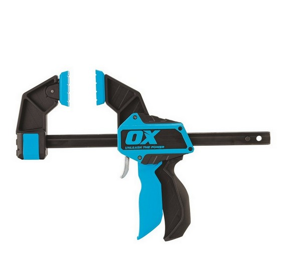 Image of Ox Pro Heavy Duty Bar Clamp 150mm 6inch