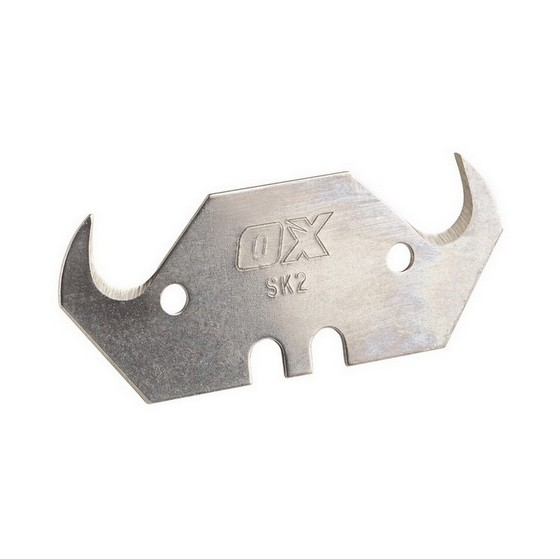 Image of OX PRO HEAVY DUTY HOOKED KNIFE BLADE AND DISPENSER PACK OF 100