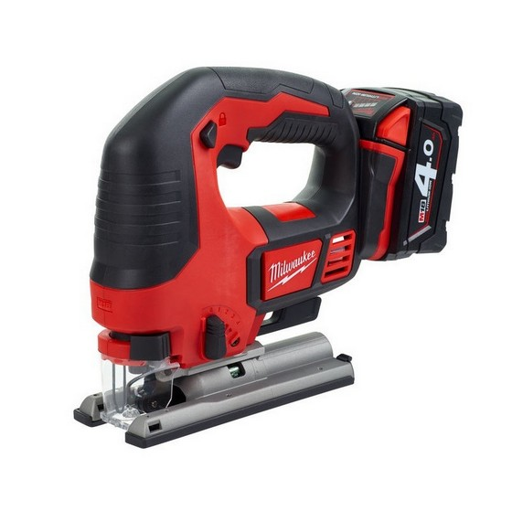 Image of MILWAUKEE M18BJS402 18V JIGSAW WITH 2X 40AH LIION BATTERIES