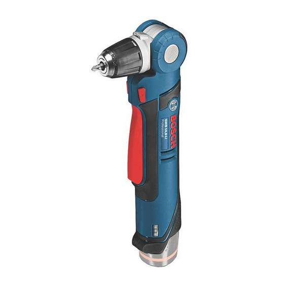 Image of BOSCH GWB108VLIN 108V CORDLESS ANGLED DRILL DRIVER BODY ONLY