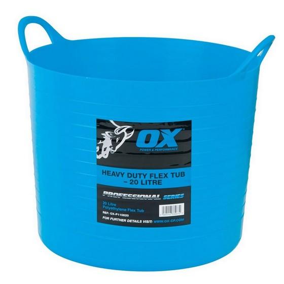 Image of Ox Pro Heavy Duty 20l Flexi Tub