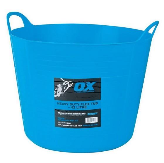 Image of Ox Pro Heavy Duty 42l Flexi Tub