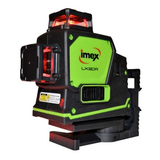 Image of IMEX LX3DR 360 DEGREE MULTILINE LASER WITH RED BEAM