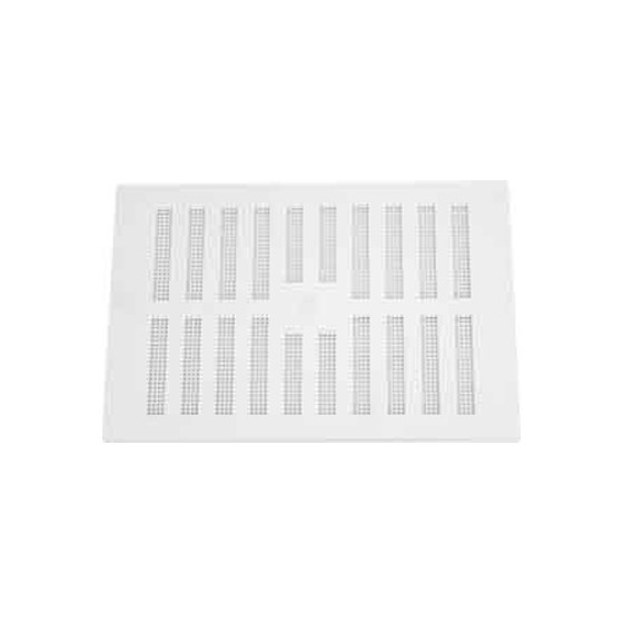 Image of MAP HARDWARE 90602 ADJUSTABLE HIT AND MISS VENT WITH FLYSCREEN 152X229MM WHITE
