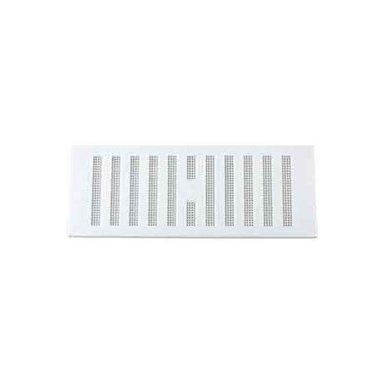 Image of MAP HARDWARE 90302 ADJUSTABLE HIT AND MISS VENT WITH FLYSCREEN 76X229MM WHITE