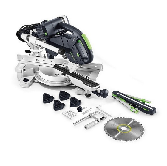 Image of FESTOOL 561693 KAPEX KS 60 ESET SLIDING COMPOUND MITRE SAW 110V