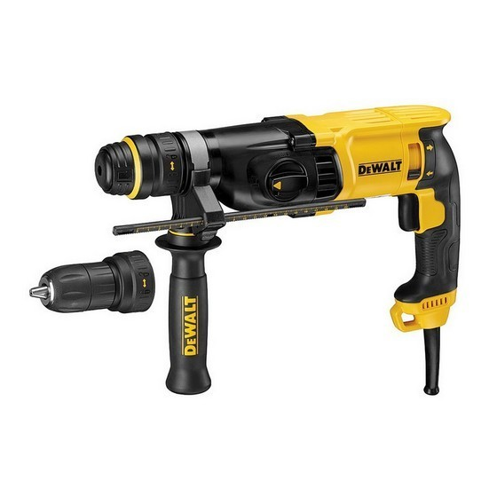 Image of DEWALT D25134KLX 3 MODE SDS ROTARY HAMMER DRILL 110V WITH QUICK CHUCK