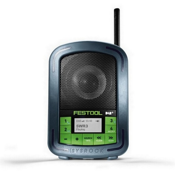 FESTOOL 202112 BR10 DAB BLUETOOTH CONSTRUCTION SITE RADIO 240V