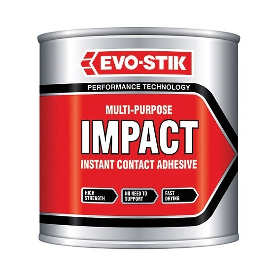 Image of EVOSTIK 30812365 IMPACT CONTACTS ADHESIVES 250ML