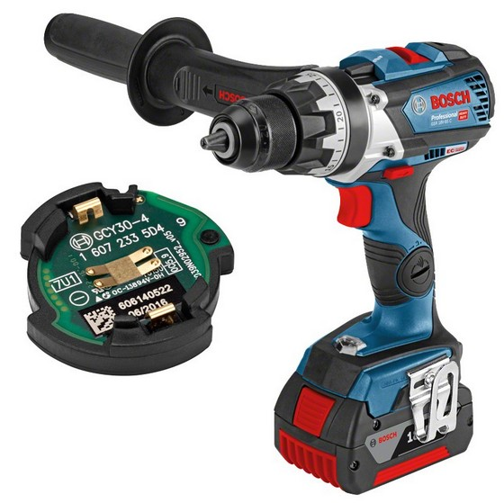 Image of BOSCH GSR18V85C 18V DRILL DRIVER GCY304 CONNECTIVITY READY 2X 50AH LIION BATTERIES