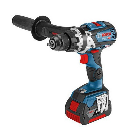 Image of BOSCH GSB18V85C 18V COMBI HAMMER DRILL CONNECTIVITY READY 2X 50AH LIION BATTERIES