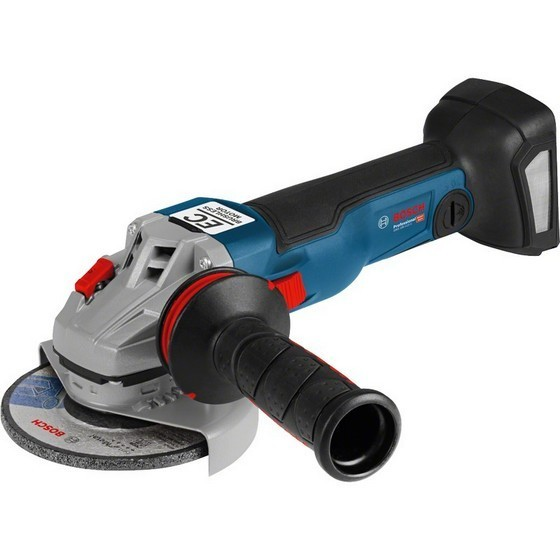 Image of BOSCH GWS18V125 1SC 18V 125MM ANGLE GRINDER CONNECTIVITY READY BODY ONLY SUPPLIED IN LBOXX